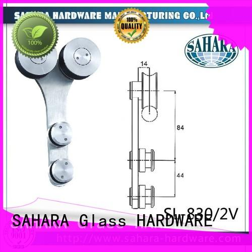 SAHARA Glass HARDWARE heavy duty sliding glass door systems customized for door