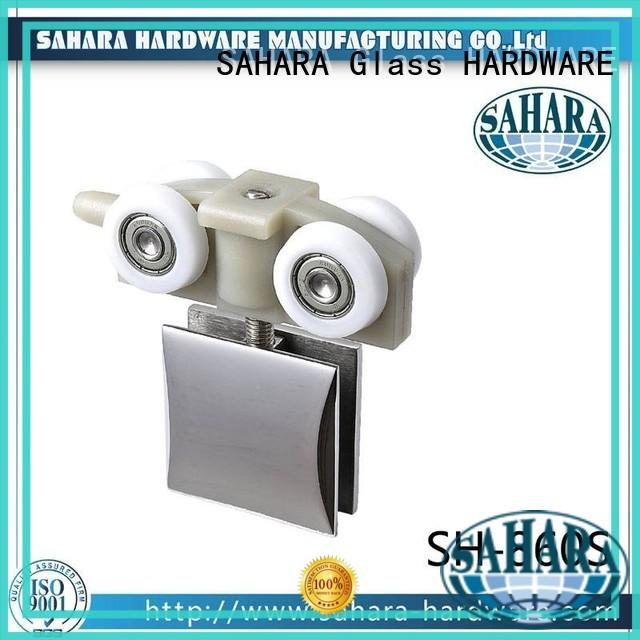 SAHARA Glass HARDWARE polished stainless steel sliding glass door systems series for home