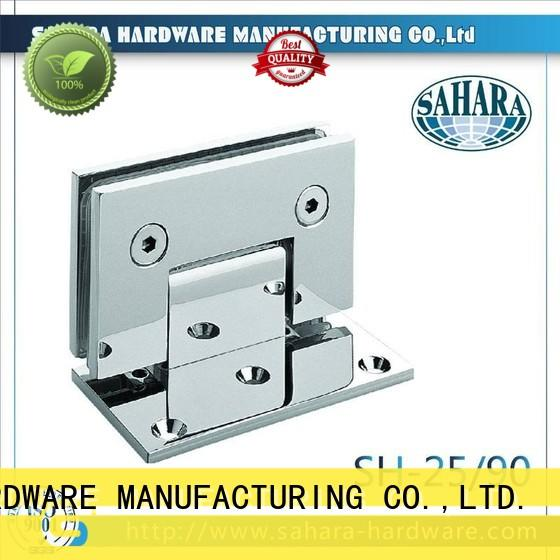SAHARA Glass HARDWARE real glass door hinges brass for home